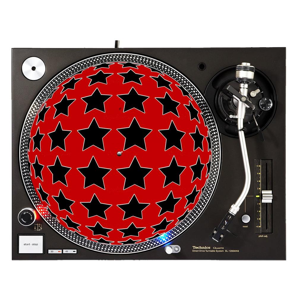 """KuzmarK™ 12"""" DJ Turntable Slipmat - Starsphere"""