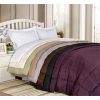 Lightweight All-season Down Alternative Reversible Blanket by Home City Inc