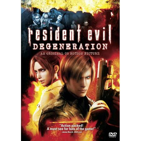 Resident Evil: Degeneration (DVD)](Evil Mermaids)