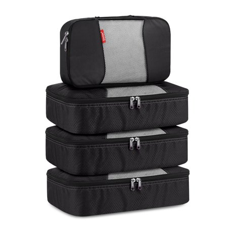 Gonex Packing Cubes Luggage Travel Organizers 3 Medium+1
