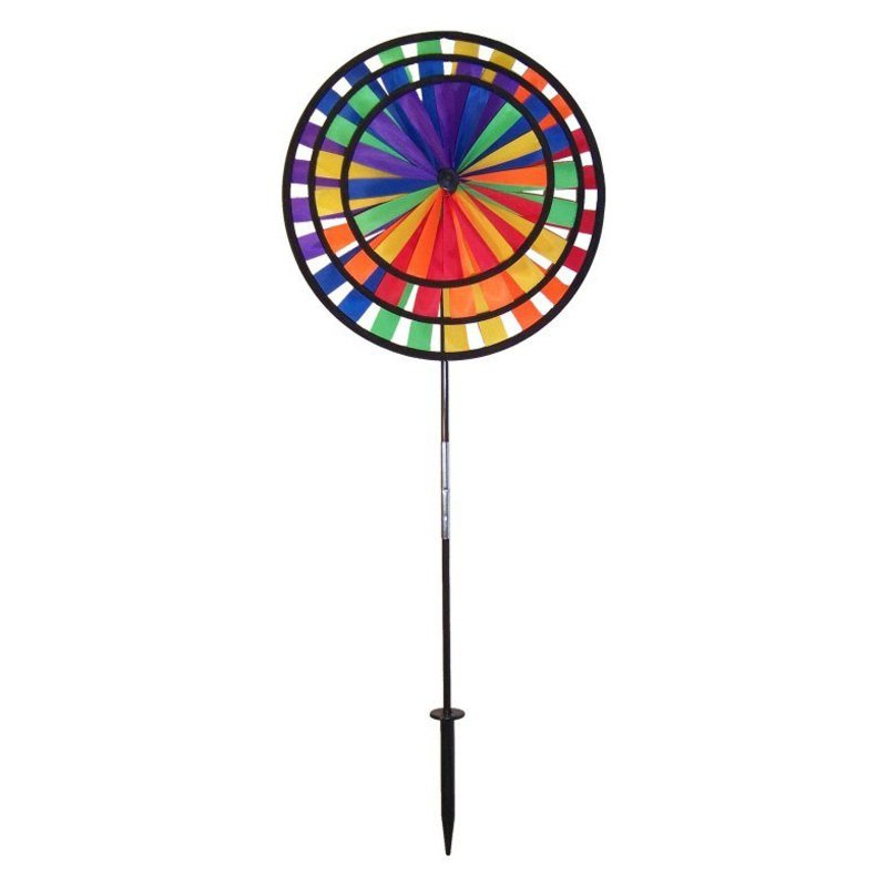 Gentil Product Image In The Breeze Rainbow Triple Spinner