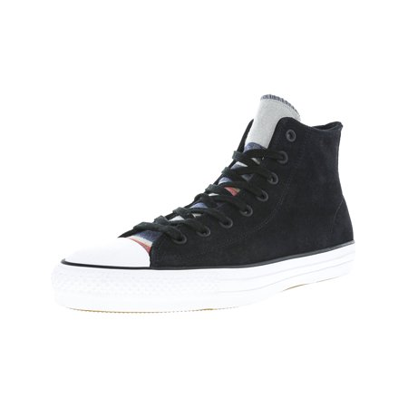 babc4fdfa70073 Converse Chuck Taylor All Star Pro Blanket Stripe Hi Black   White High-Top  Suede ...