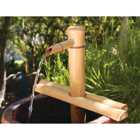 Bamboo Accents 18-in. Adjustable Spout and Pump Fountain Kit