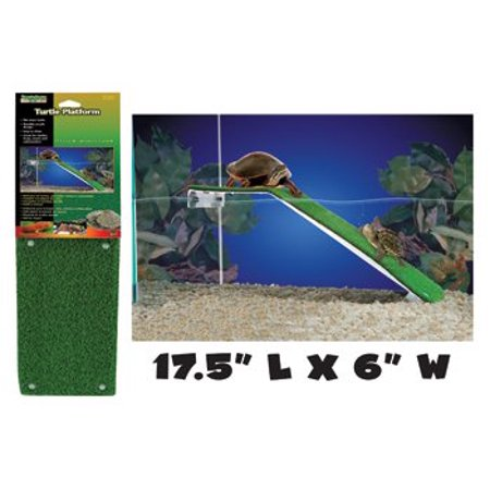 Penn Plax The Reptology Turtle Platform - Platform helps turtles in & out of water. Turtle Platform - 17.5