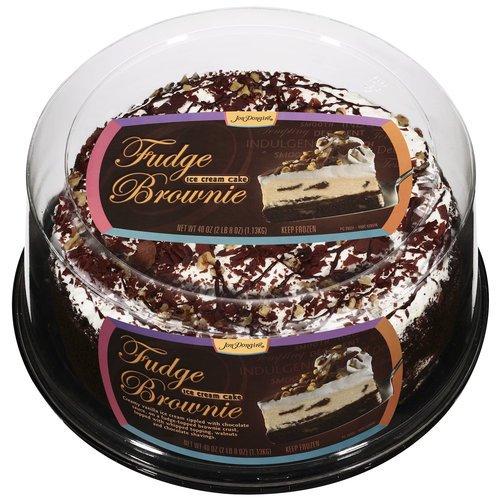 Jon Donaire Fudge Brownie Ice Cream Cake 40 Oz