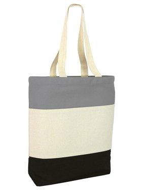 d2db8fa1cf66f1 Product Image Tricolor Heavy Canvas Tote Bag