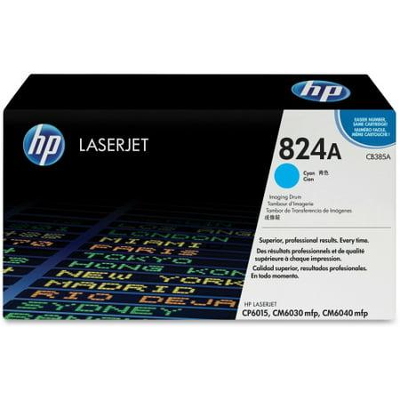 HP 824A - 1 - cyan - drum kit HP 824A (CB385A) Cyan Original LaserJet Image Drum - 23000 Page - 1 (Cyan Image Drum Kit)
