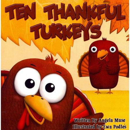 Ten Thankful Turkeys - Thankful Turkey Craft