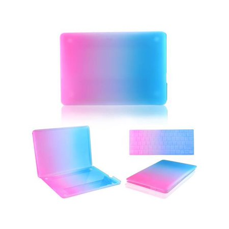 """(Hard Case Rainbow Laptop Shell with Keyboard Skin Screen Protector for Apple Macbook Pro 15"""" 15.4"""" A1286)"""