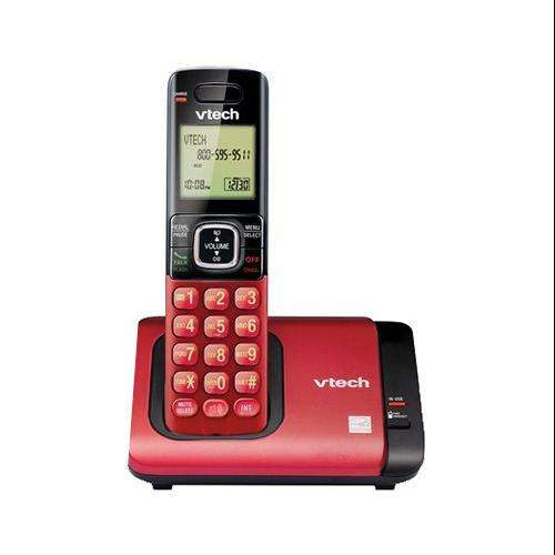 VTECH COMMUNICATIONS INC Cordless Phone System, Caller ID/Call Waiting, Red