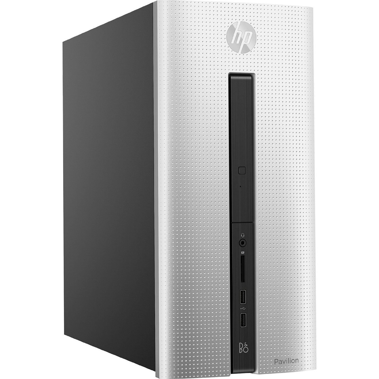Certified Refurbished Like New HP Desktop Computer 550 AMD Quad Core 8GB Memory, 1 Terabyte Hard Drive, DVD+RW, WiFi,... by HP