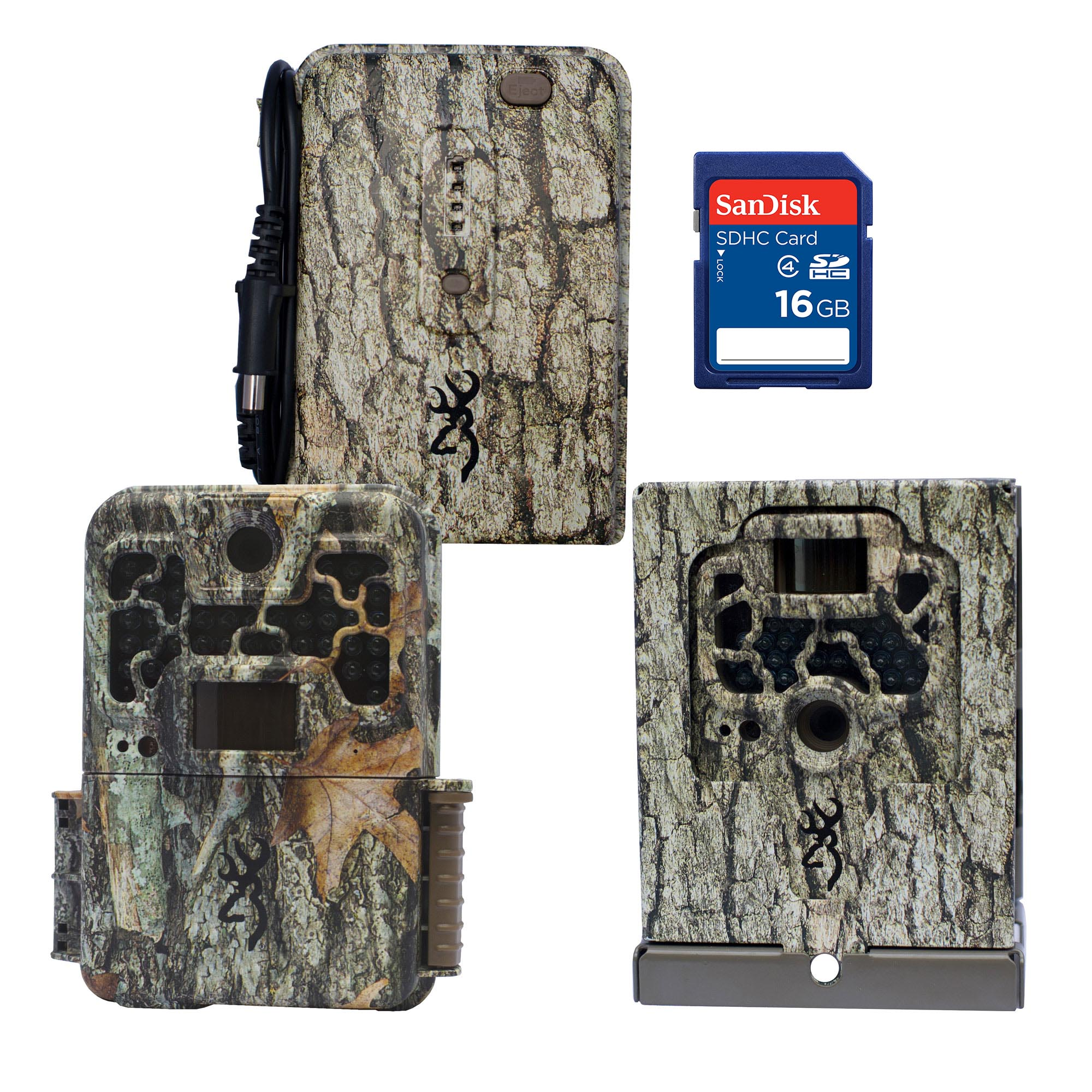 Browning 10 MP Trail Camera + Security Box + 16GB SD Card...