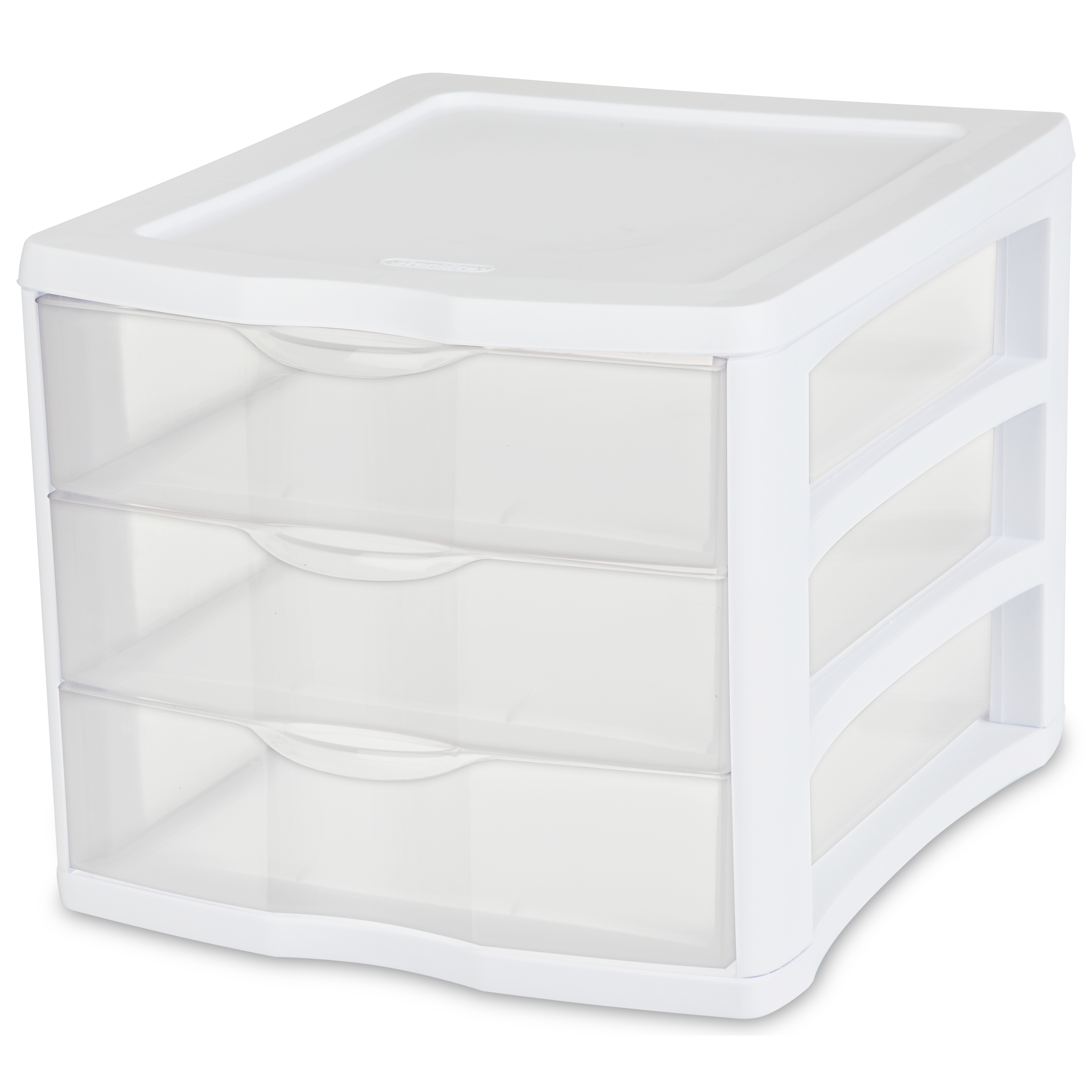 Sterilite 3-Drawer Organizer, White