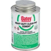 Oatey 4 Oz. Heavy Bodied Clear PVC Cement 30850