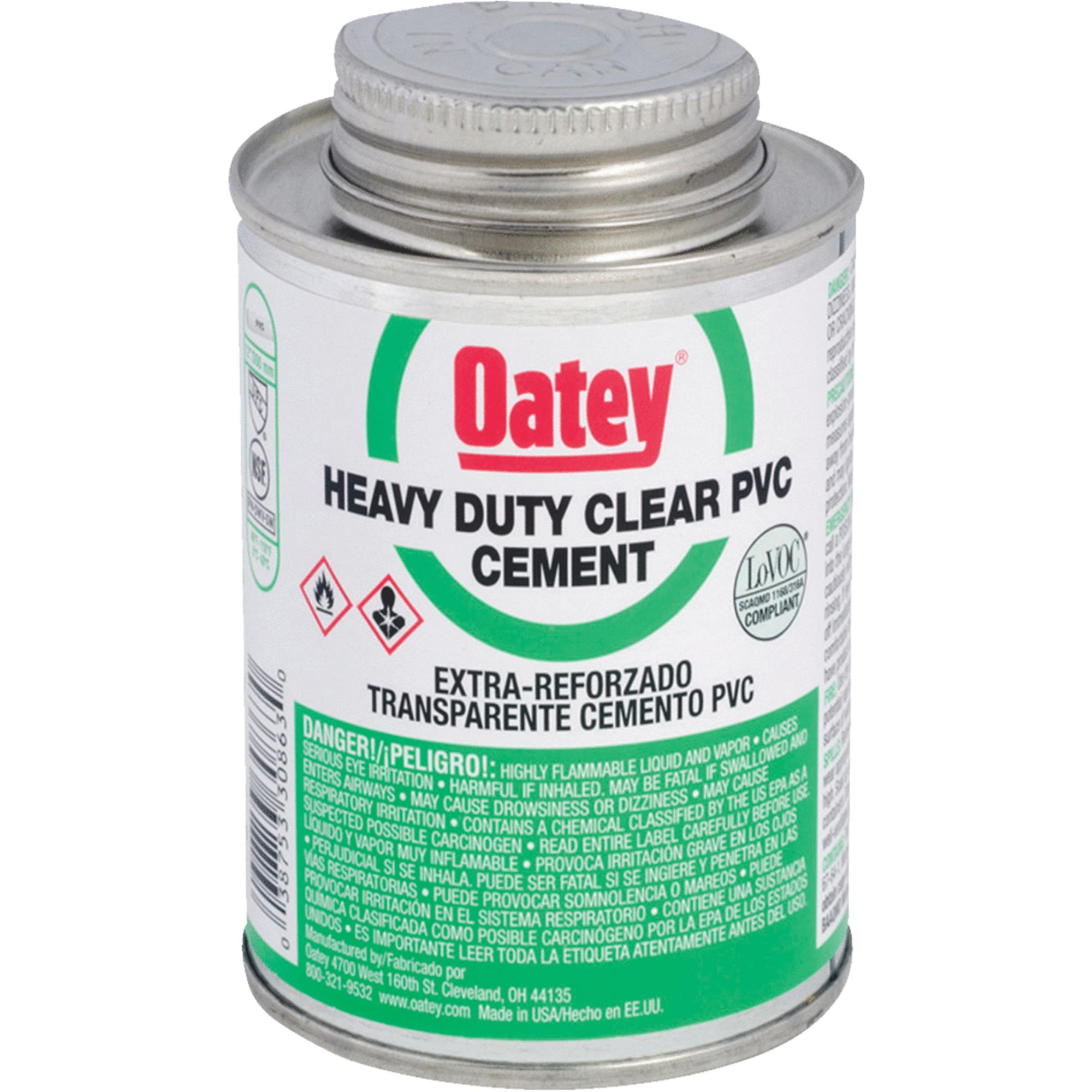 Oatey 1/4pt Heavy Duty Pvc Cement 30850