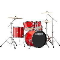 """Yamaha Rydeen 5-Piece Shell Kit - 20"""" Bass Drum - Hot Red"""