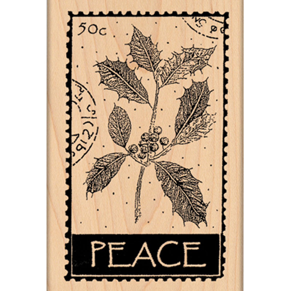 """Penny Black Mounted Rubber Stamp, 2-1/2"""" x 4"""""""