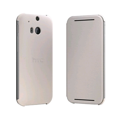 HTC Flip Case for HTC One (M8) Light Brown by HTC