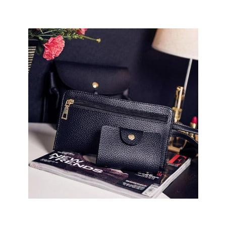 f325ba035954 4pcs Women Fashion Composite Bag Handbag Wallet Shoulder Crossbody Bags  Caroj - image 1 of 4 ...