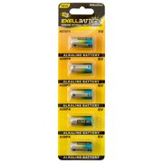 Exell 6V Alkaline Battery, A28PX, 165 Milliamp Hours, 5-Pack