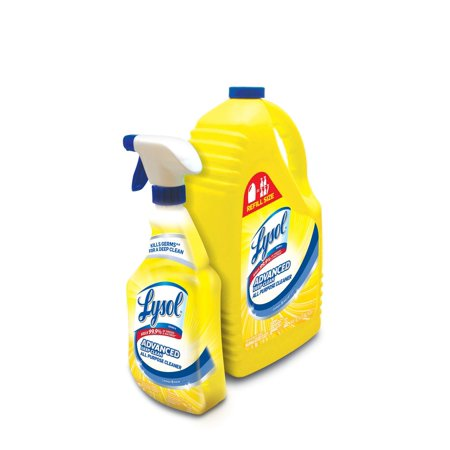 All Purpose Scale (Product of Lysol Lemon All Purpose Cleaner, 32 oz. Spray Bottle with 144 oz. Refill [Biz Discount])