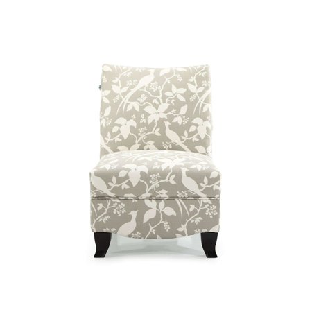 Dhi Donovan Bardot Upholstered Accent Chair Multiple Colors