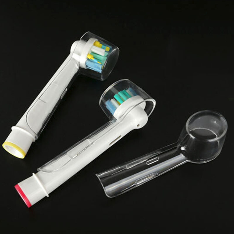 Electric Toothbrush Head Clear Dustproof Covers Protector Cases For Braun Oral-B