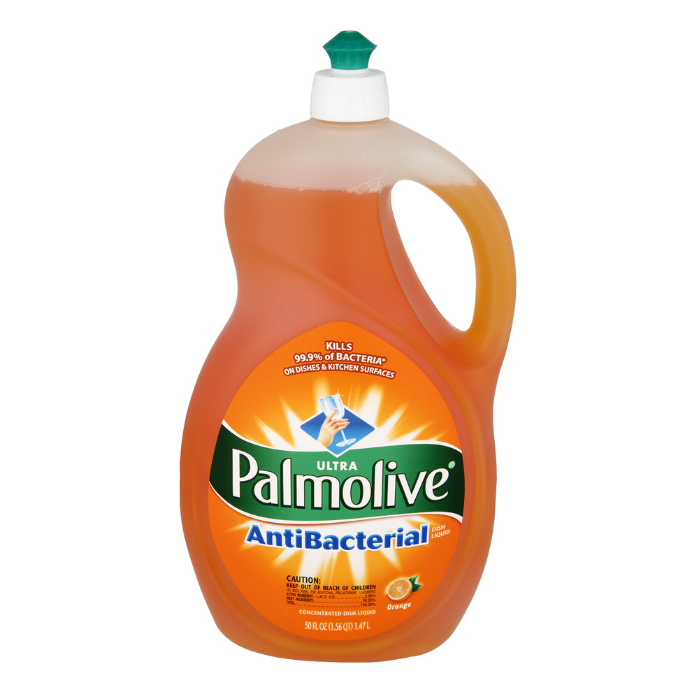 Palmolive Ultra AntiBacterial Orange Dish Liquid 50 FL OZ, 50.0 FL OZ