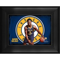 """Aaron Holiday Indiana Pacers Framed 5"""" x 7"""" Player Collage"""