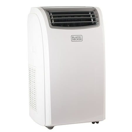 BLACK+DECKER 14,000 BTU Cooling, 11,000 BTU Heating Portable Air Conditioner with Remote Control & Heat Pump