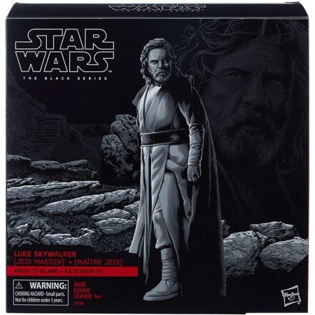 Star Wars Black Series Luke Skywalker (Jedi Master) Action Figure [Ahch-To Island]