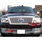 Compatible with 2004-2008 Ford F-150 Honeycomb Style Stainless Wire Mesh Grille Insert F75727T