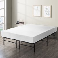 Best Price Mattress 10 Inch Memory Foam Mattress and Innovated Steel Bed Frame Set - Twin