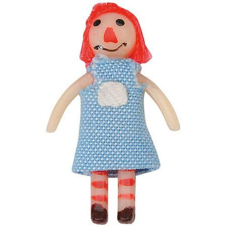 Halloween Rag Doll Face Makeup (Miniature - Rag Doll - 1-3/8)
