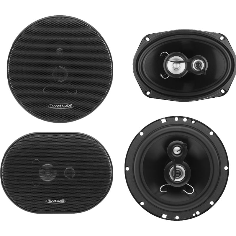 "Planet Audio Torque 6.5"" + 6"" X 9"" Full Range Car Speaker"