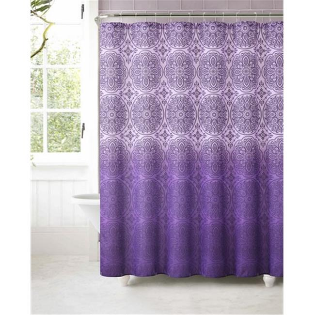 Palais Grommet Top Curtain Panel Ice Blue Shower Curtain
