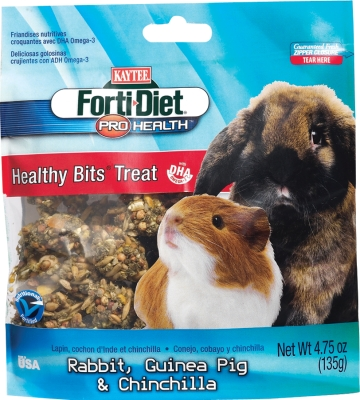 CENTRAL - KAYTEE PRODUCTS, INC HEALTHY BITS RABBIT/GUINEA PIG 4.5 OZ