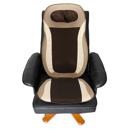 Voiture électrique Accueil voiture Cinq Motors Massage Coussin Seat Chaise Pain Relief chaleur Pétrissage Masseur Vibration