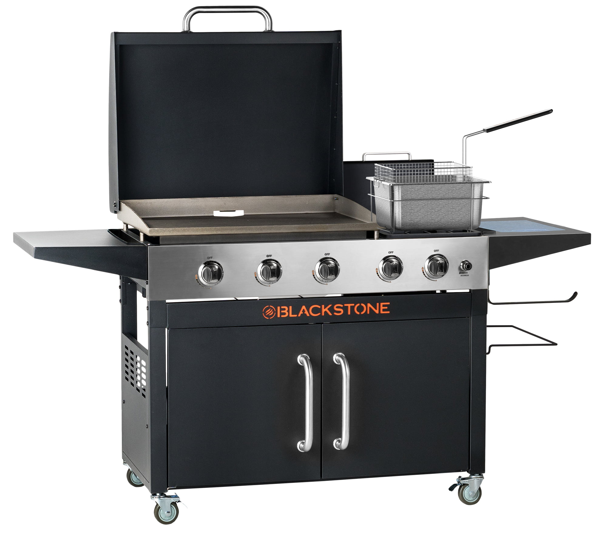 "Blackstone Range Top Combo - 28"" Griddle with Bonus Fryer"