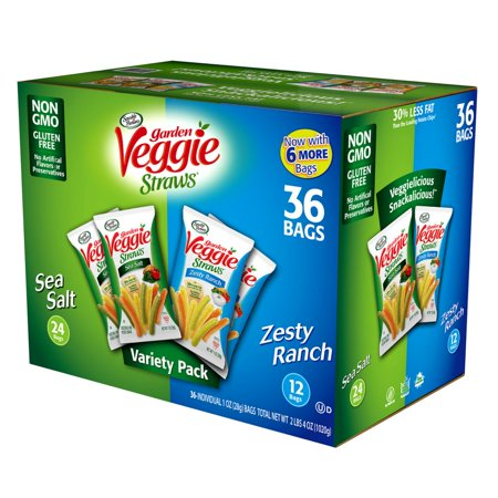 Branded Sensible Portions Veggie Straws Variety Pack (1 oz. each, 36 ct.) - [Qty Discount / Wholesale Price] - Online Wholesale