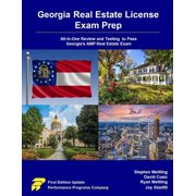 Georgia Real Estate License Exam Prep : All-In-One Review and Testing to Pass Georgia's Amp Real Estate Exam