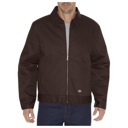 Dickies Mens Insulated Eisenhower Jacket, Dark Brown - S RG