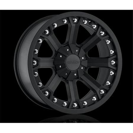 Pro Comp Whl 70337905 Xtreme Alloys Series 33 Wheel, Aluminum - Flat Black
