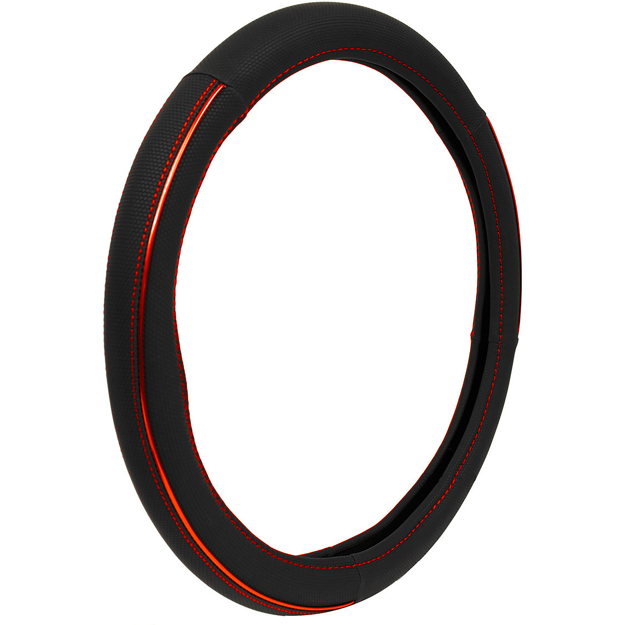 Auto Drive Steering Wheel Cover, Sport Red