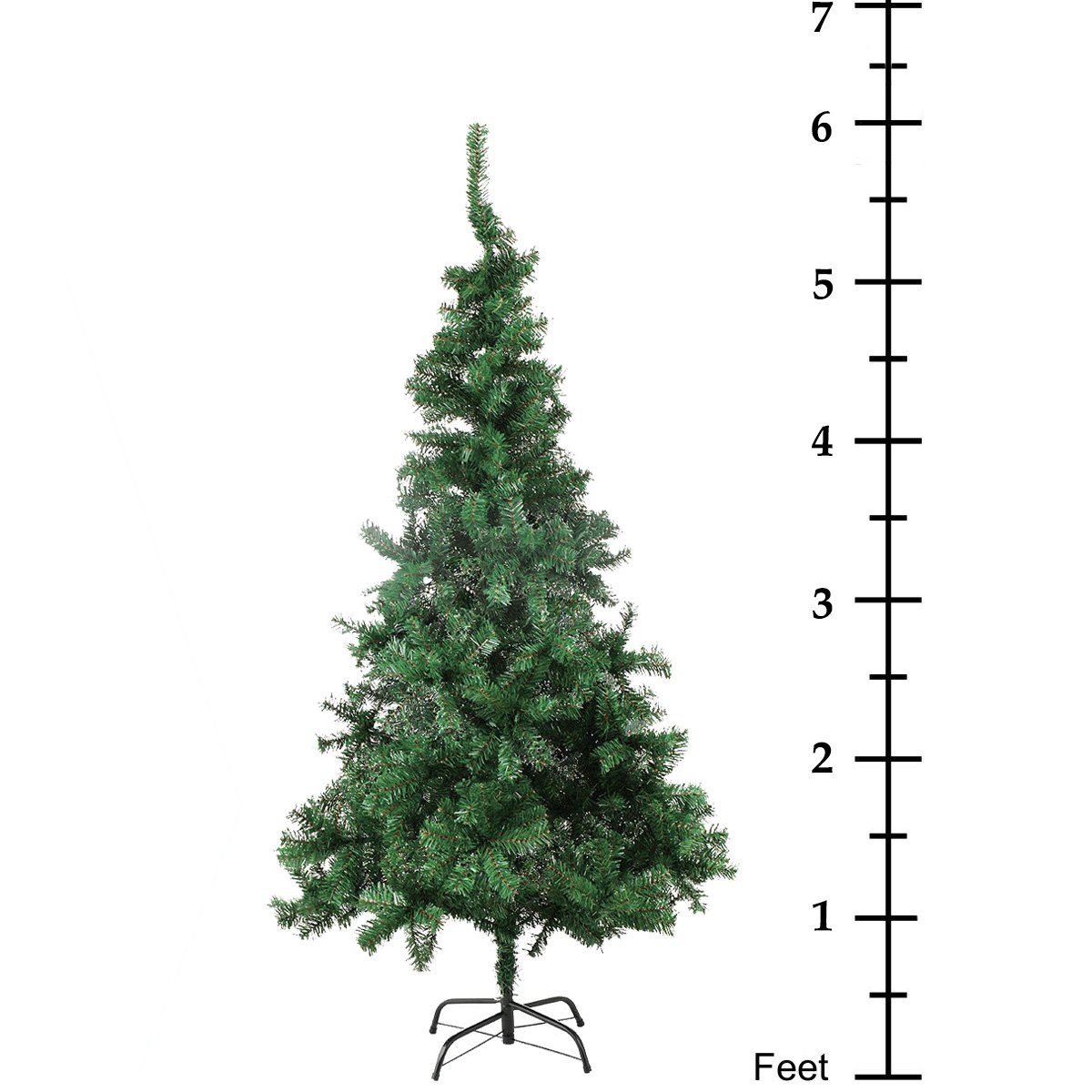 Fake Christmas Tree.6 Artificial Christmas Tree Unlit Amazingforless 6ft Fake Christmas Pine Tree 660 Tips Green 6 Foot Christmas Tree With Plastic Base For Holidays