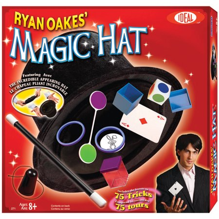Ideal Ryan Oakes Magic Hat Set