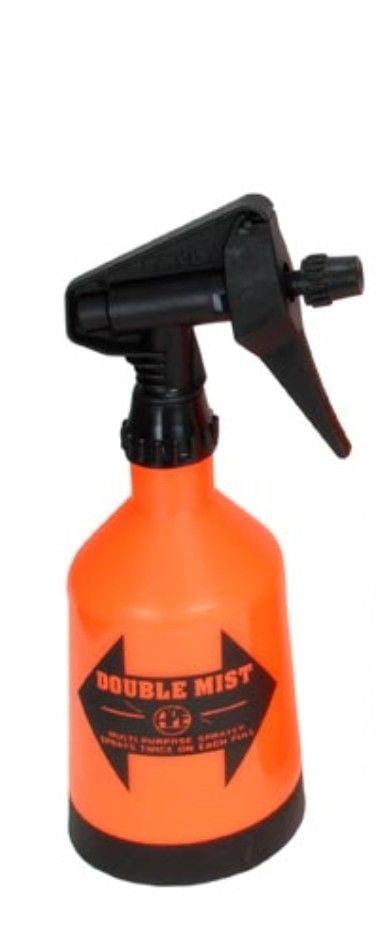 Double Mist Trigger Sprayer Yard Plants Adjustable 2 Sprays 1 2Liter Orange by Kwazar