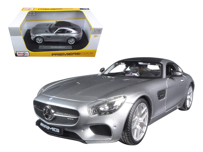 Mercedes AMG GT Silver 1 18 Diecast Model Car by Maisto by Diecast Dropshipper