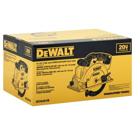 DeWalt 20V MAX* 6-1/2u0022 Circular Saw (Tool Only)