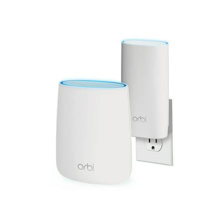 NETGEAR RBK20W-100NAS Orbi Home Wi-Fi System, Up to 3,500sq  ft  (AC2200)